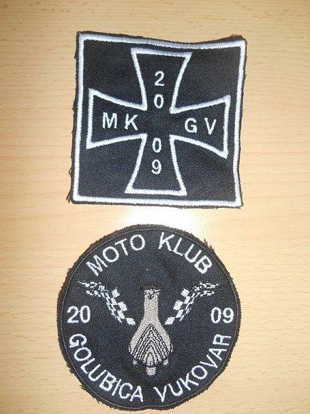 Support MK Golubica - prišivci
