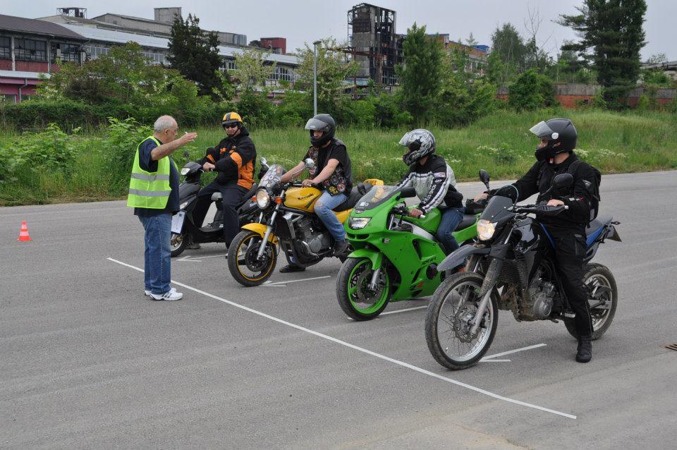 Sigurna vožnja motociklista u prometu 2014.