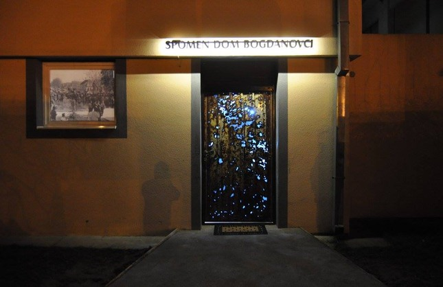 Otvoren Spomen dom u Bogdanovcima - spoj povijesti i umjetnosti